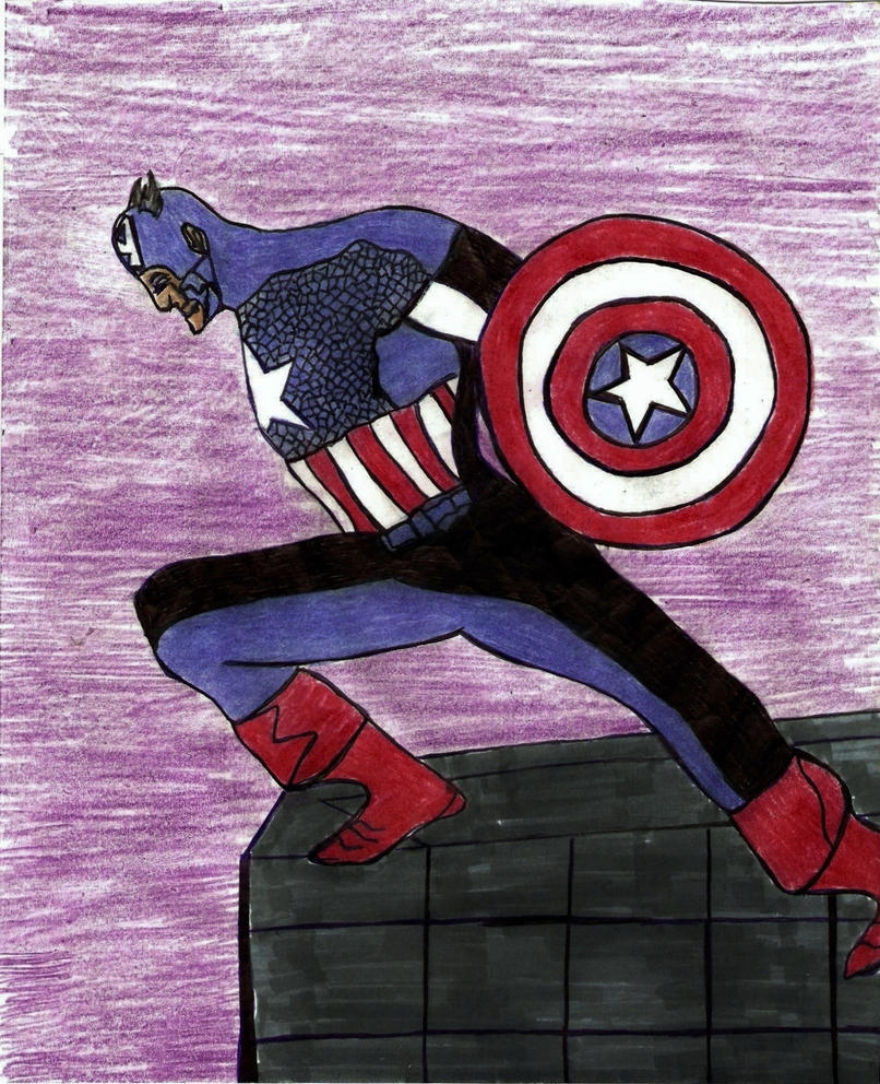 CaptainAmerica by Taylor2984