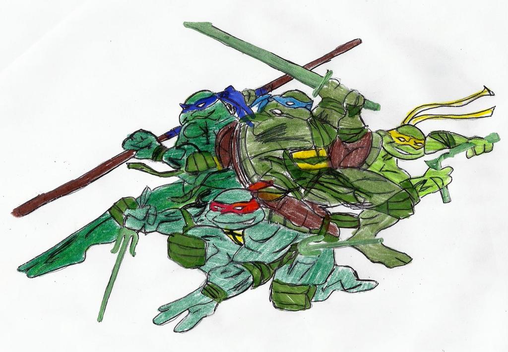 ninja turtles by Taylor2984