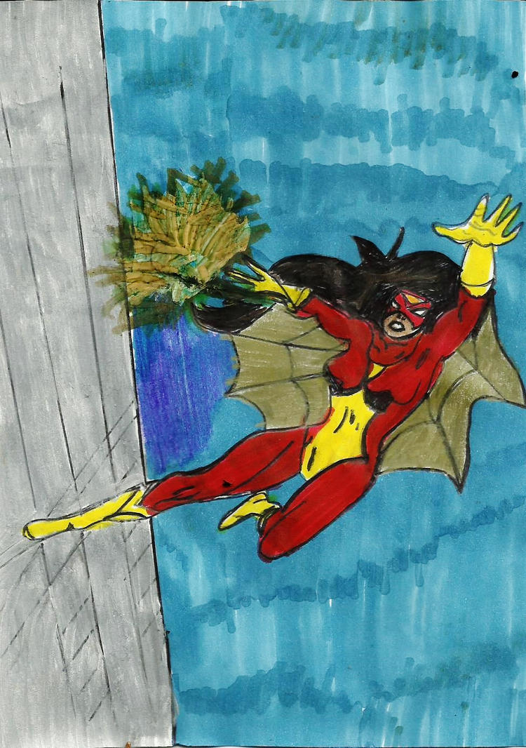Spider woman by Taylor2984