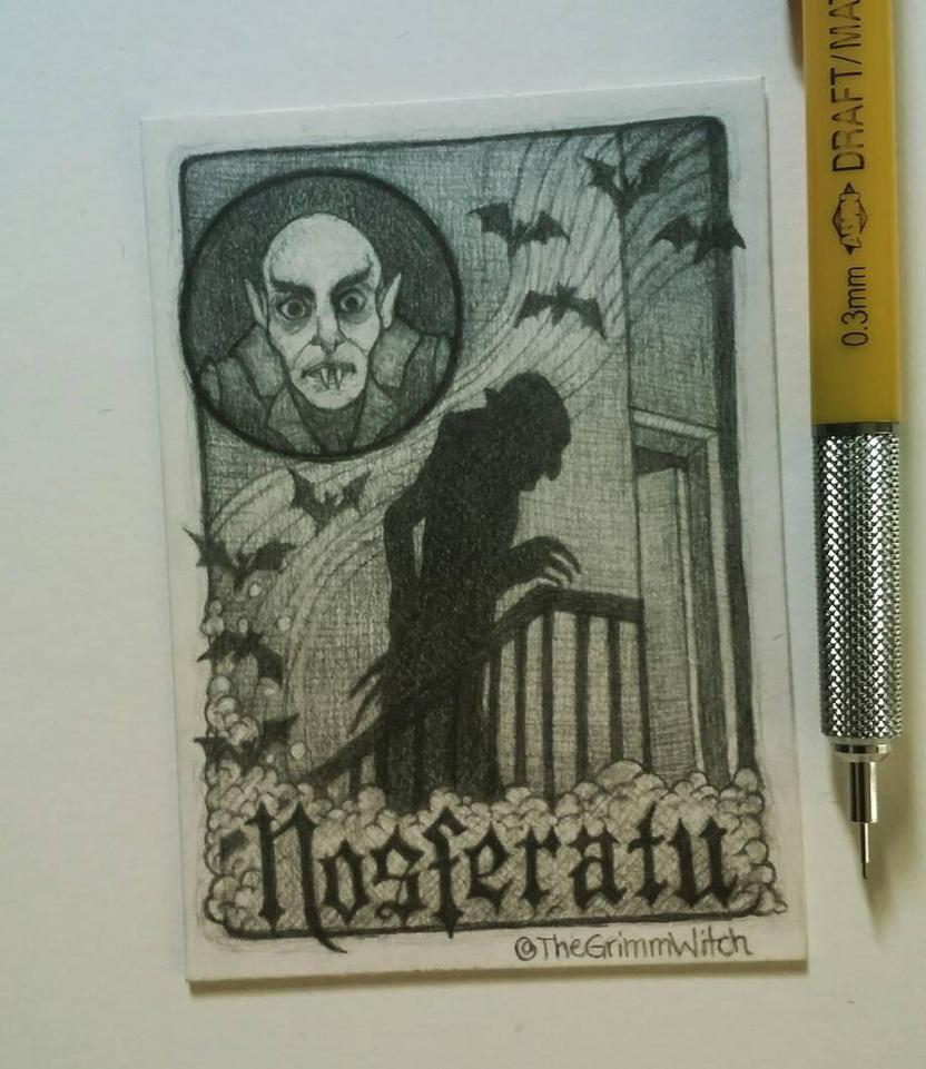 Nosferatu ATC by me-tal