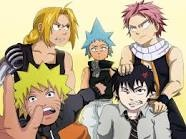 My favorite badass males are together! by Animekidhanamakusa