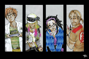 line-up by chid0