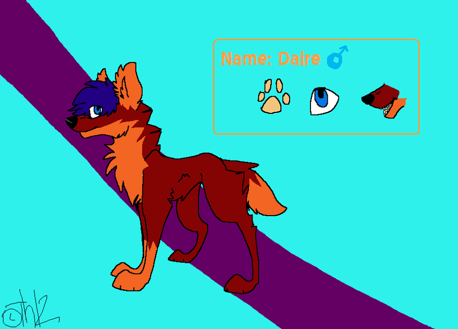 Daire Refence Sheet Comission For CiaoneeSama by Unikonkukka