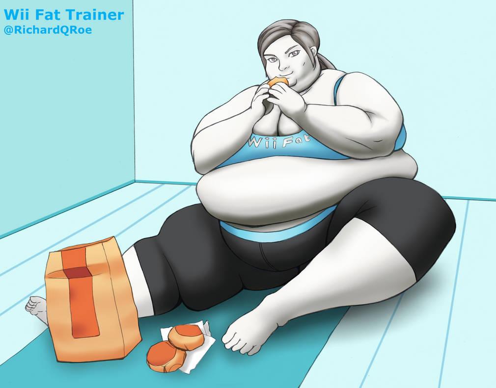 Wii Fat Trainer!!! by MurdochScrooge