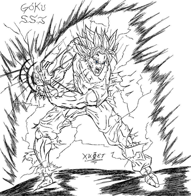 Goku From Dragonball Z by xaelasis on DeviantArt