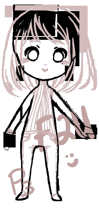 Chibi Base -F2U- by pumkinpie3