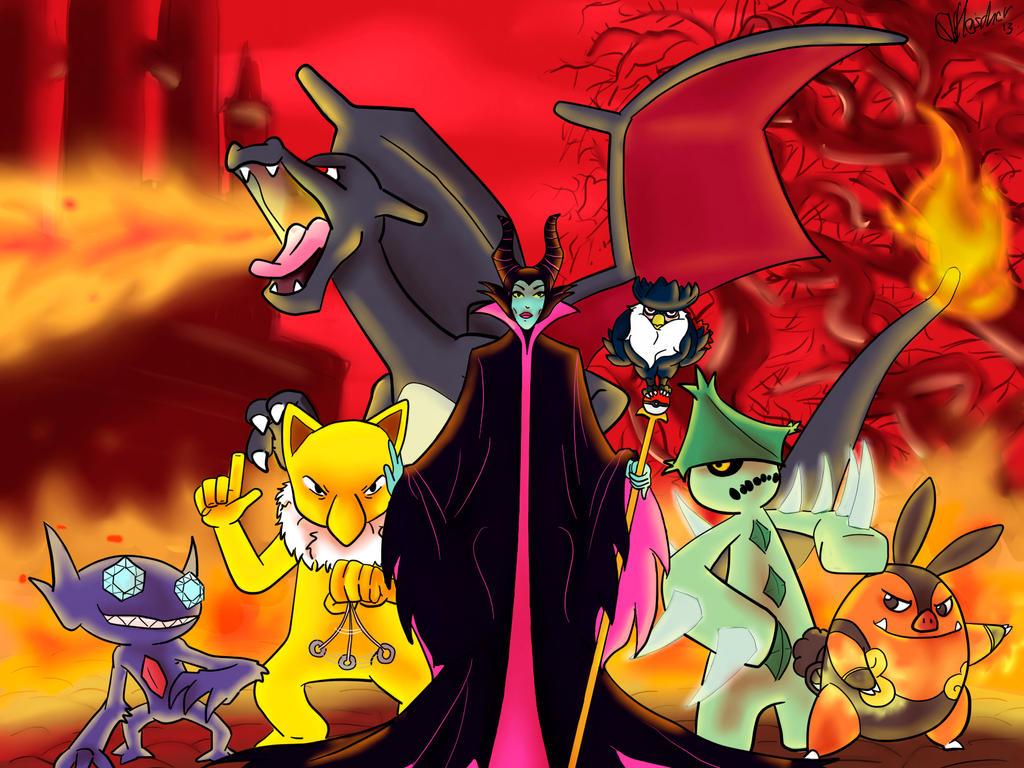 Maleficent Team by VibaFleischer