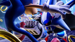 I am the ultimate overlord, METAL SONIC!