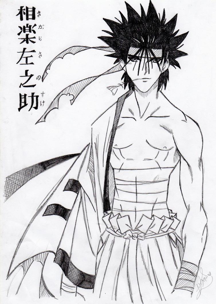 Sagara Sanosuke by saezuruko