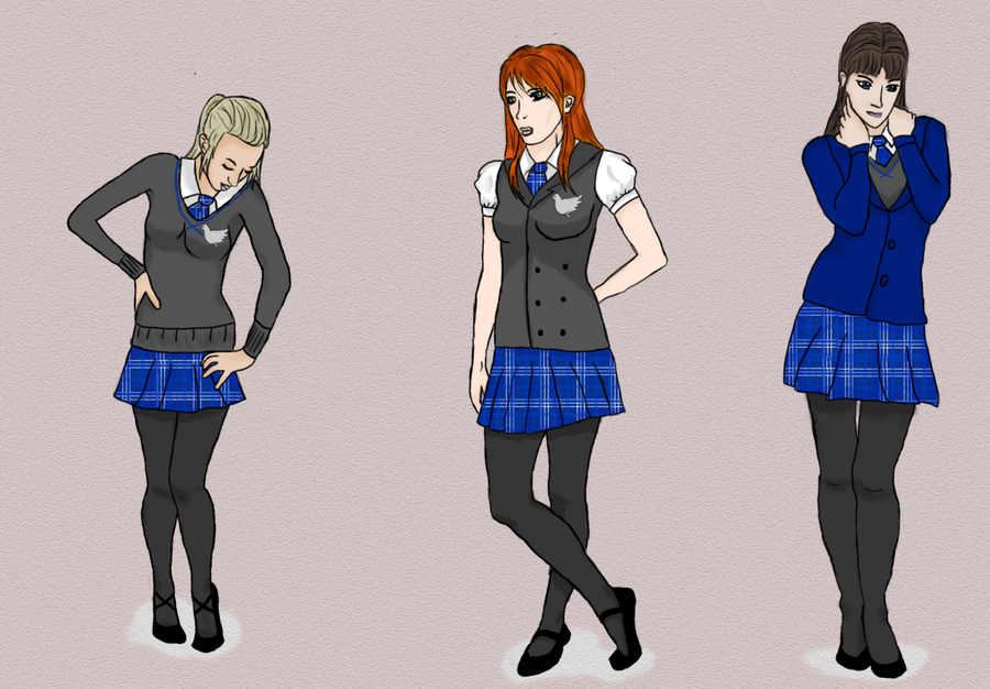 Salvation: School Uniform Design by sailorgemstone