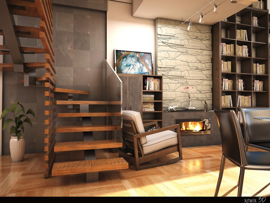 akasya living room by park0toker
