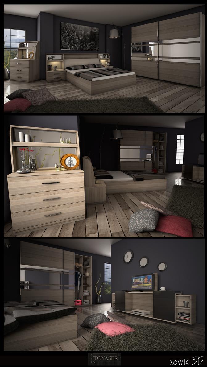 yaprak bedroom by park0toker