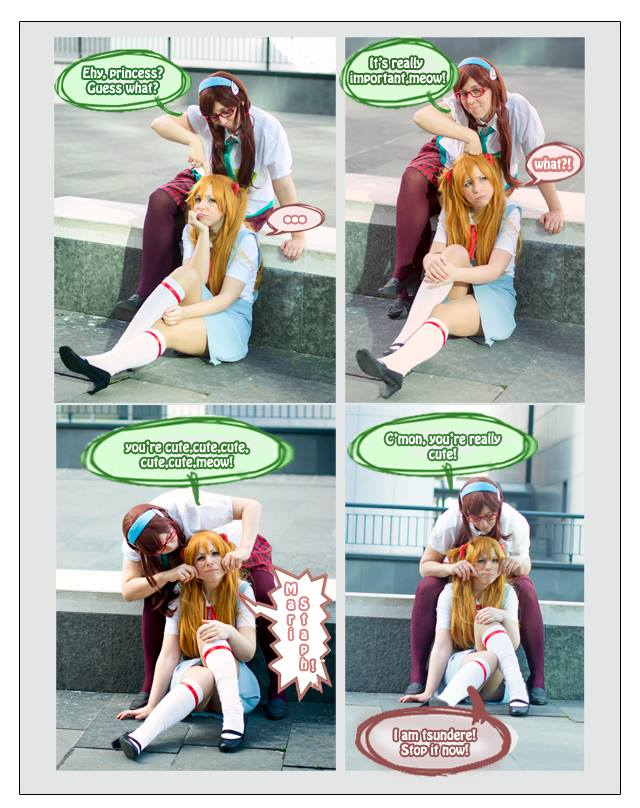 Mari and Asuka xD by CryChan87