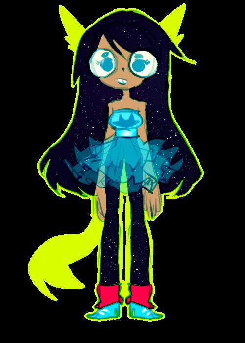 space girl by tearzahs