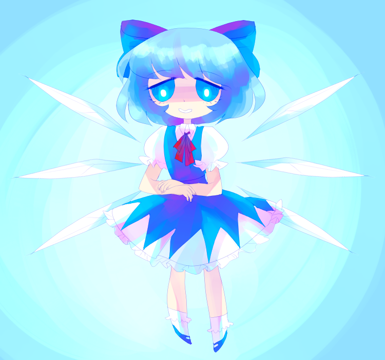 cirno by tearzahs