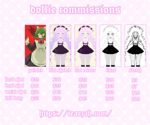 commission sheet (2019) by dollieguts