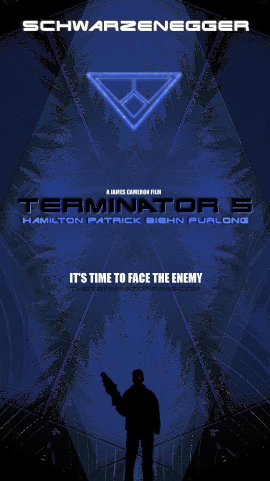 Terminator 5 Poster Concept Idea by TheTerminatorFans on ...