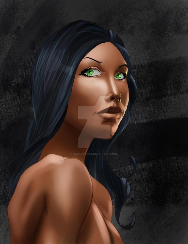 Black Woman by Brandon5150