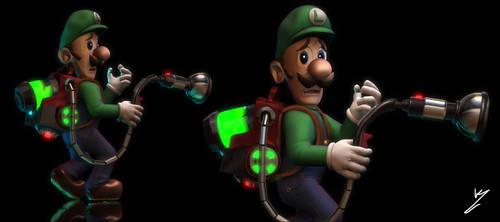 Luigi's Mansion 3 Fanart sculpt