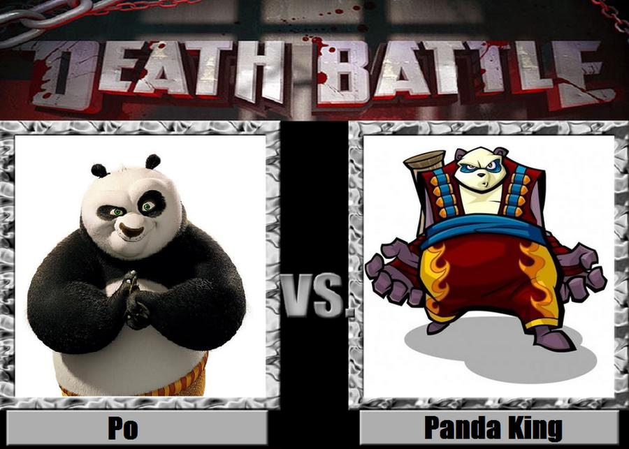 Death Battle idea Po vs Panda King by PRS3245