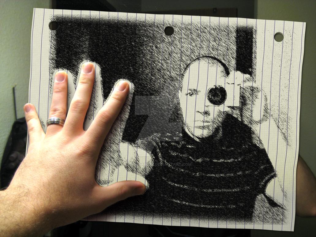 Hand-Drawn Reflectology by Caligari-87