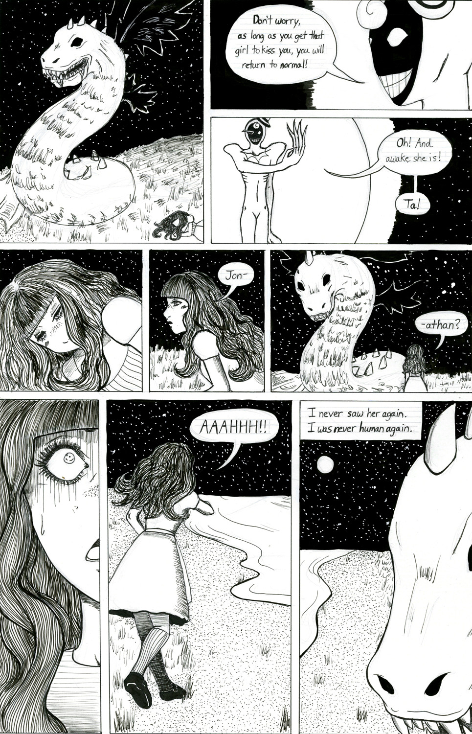 'The Becoming' page 3 -done- by KatieKurama