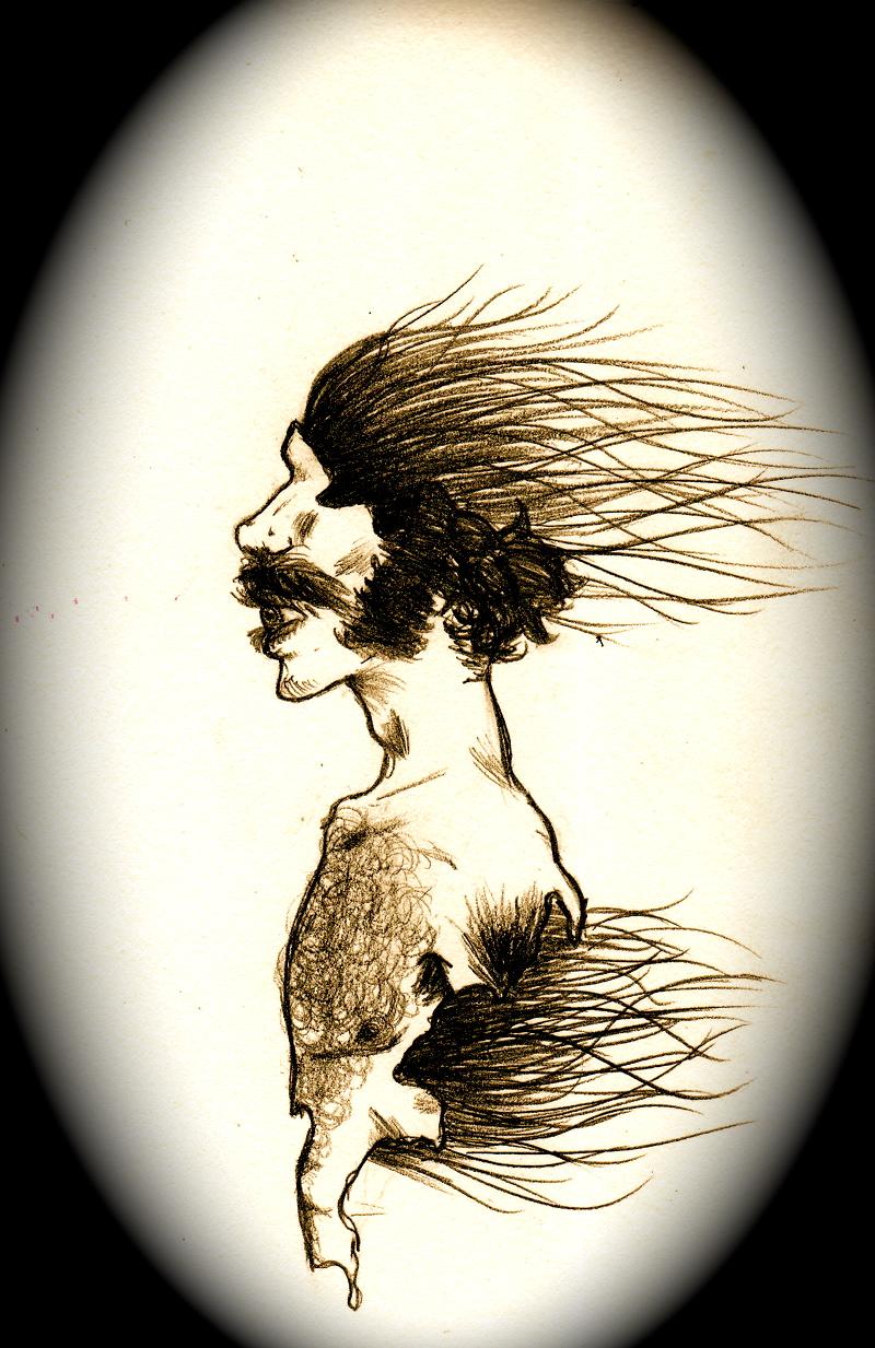 sillhouelephant by KatieKurama