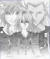 :Kingdom Hearts II: by KatieKurama