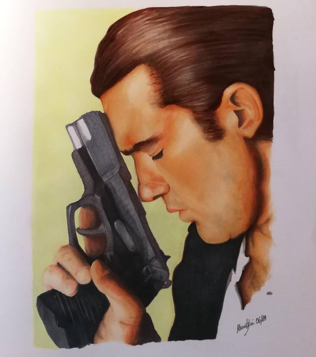 Antonio Banderas Desperado By Maroxart On Deviantart