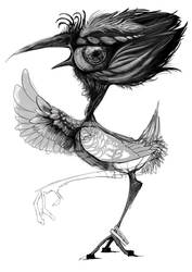 Birdie Birdie your eyes are dirty by Nurkkatomu