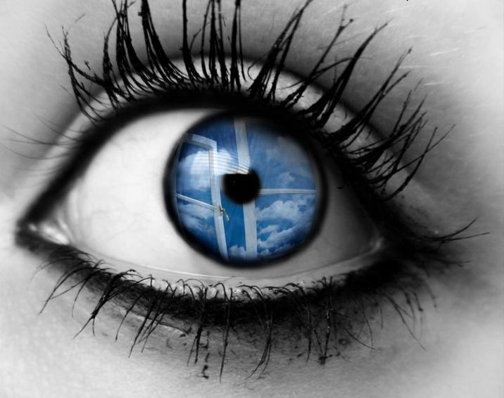 The eyes are the window to ones souls