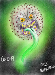 COVID-19 as a monster