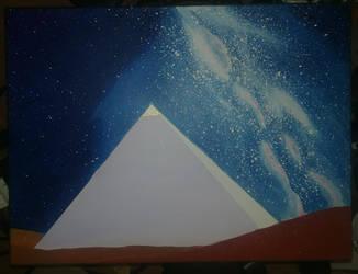 night pyramid