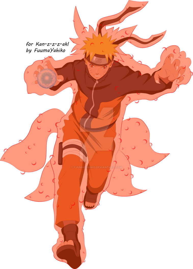 naruto kyuubi cloak mode - photo #25