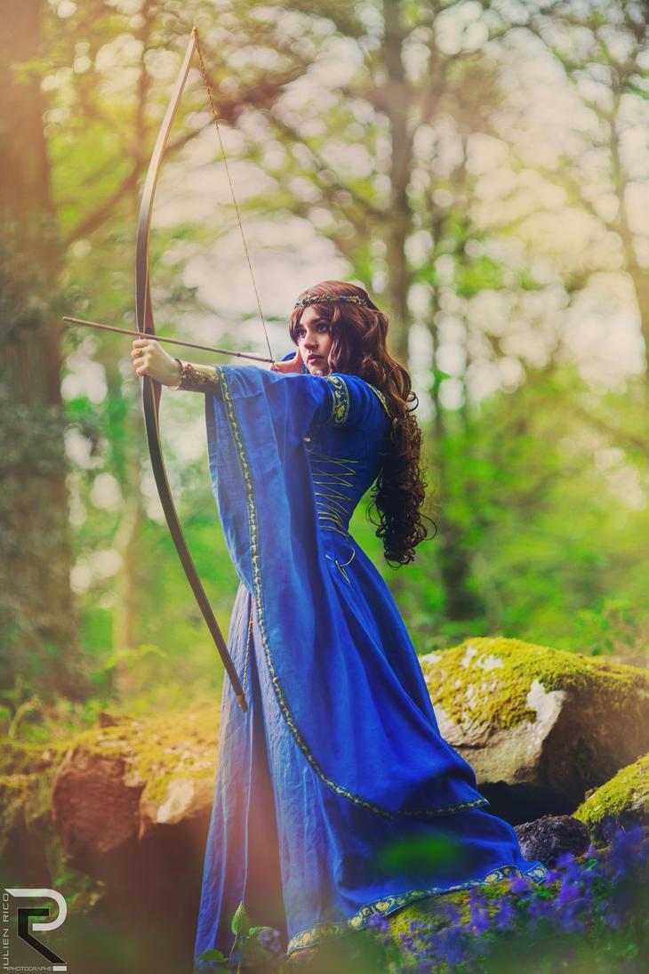 Lady Avalon - The Archeress by Elyra-Coacalina