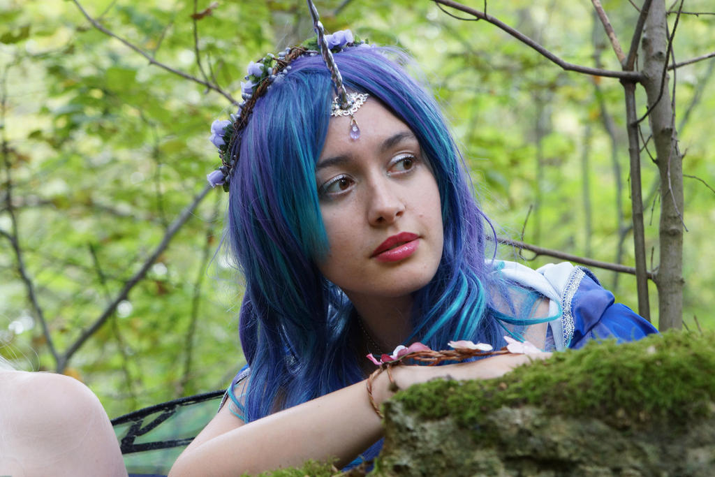 lilac unicorn fairy by Elyra-Coacalina