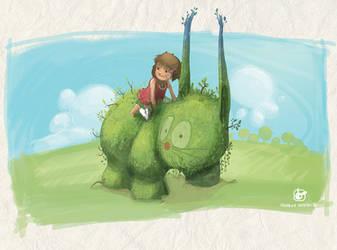 Illustration for children by GiusCB