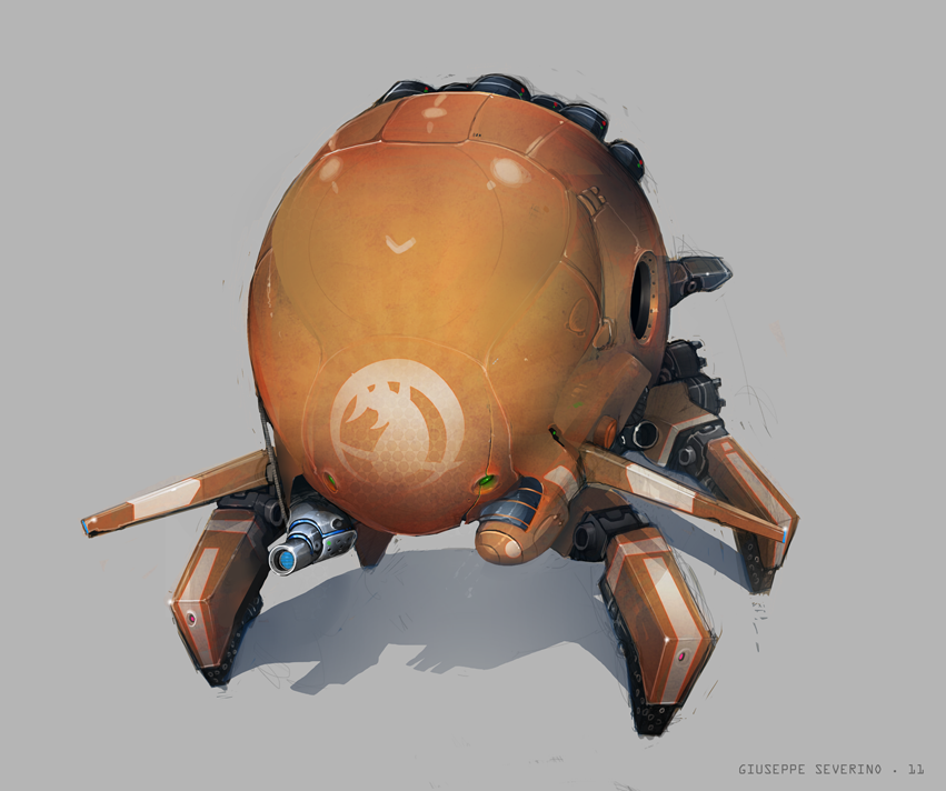 Spider Droid by GiusCB