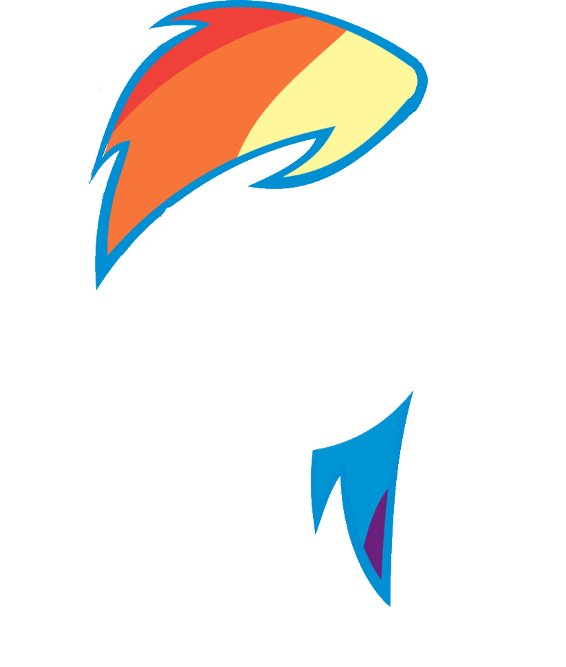 rainbow dash hair style mlp human rainbow dash hairstyle theshinycelebi viewing 6341