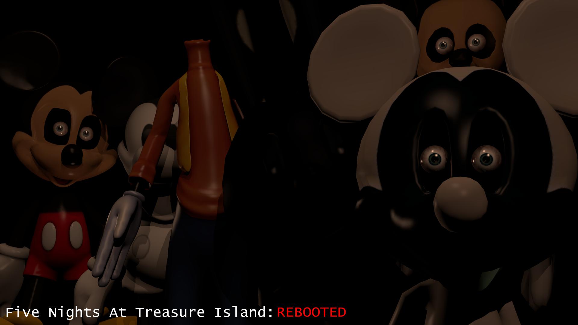 Five Nights At Treasure Island End F Disney