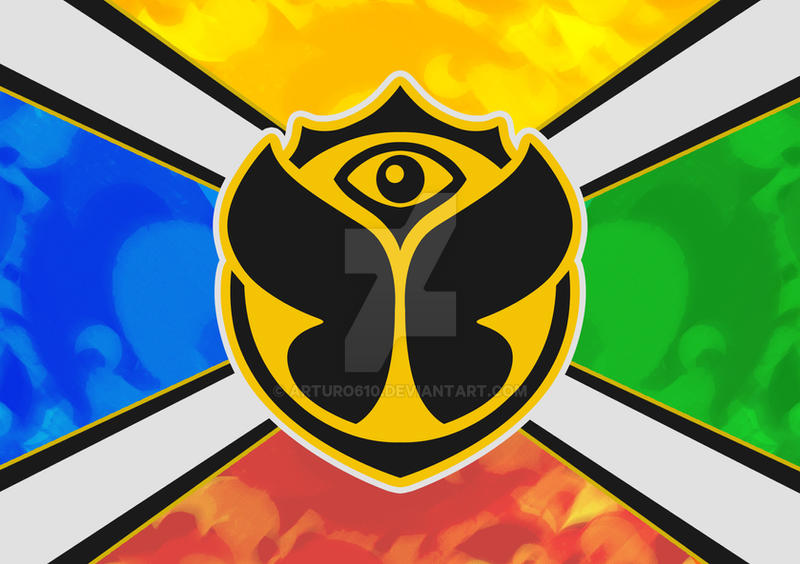 Tomorrowland Flag By Arturo610 On Deviantart