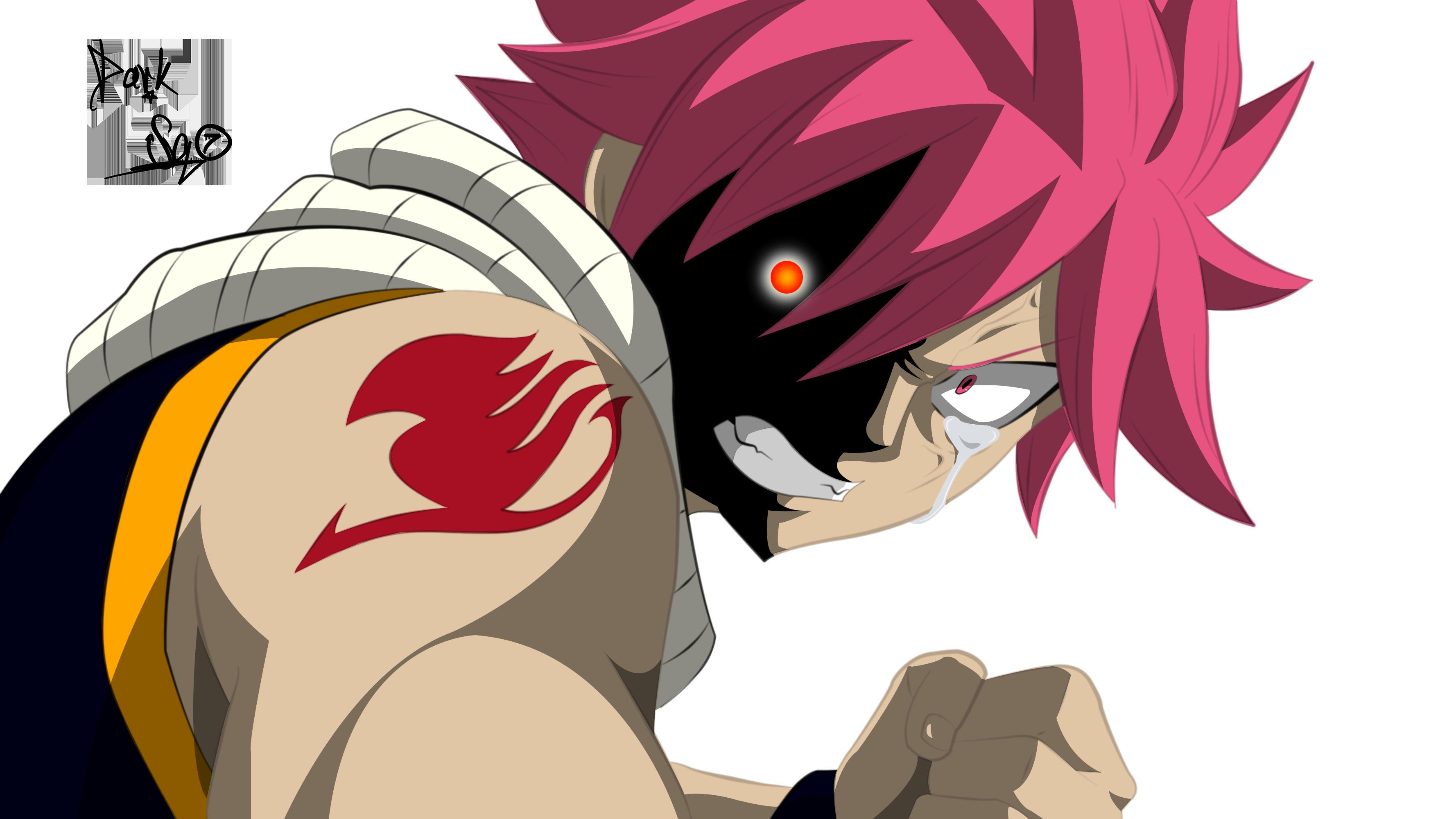 Natsu Dragneel angry-Fairy Tail ch.495 by parokas on ...  Natsu Dragneel Angry