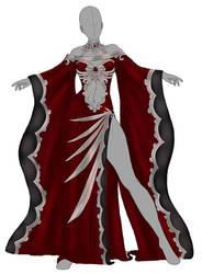 Dark Solaria Dress by RoseDragonfire