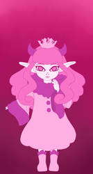 Monochrome Pink - 100 Days by RoseDragonfire