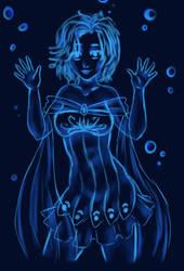 Blue Bubble for RaineSeryn by RoseDragonfire