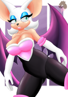 Rouge the Bat by GloryKittyChan