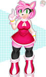 Amy Rose by CookieGlory