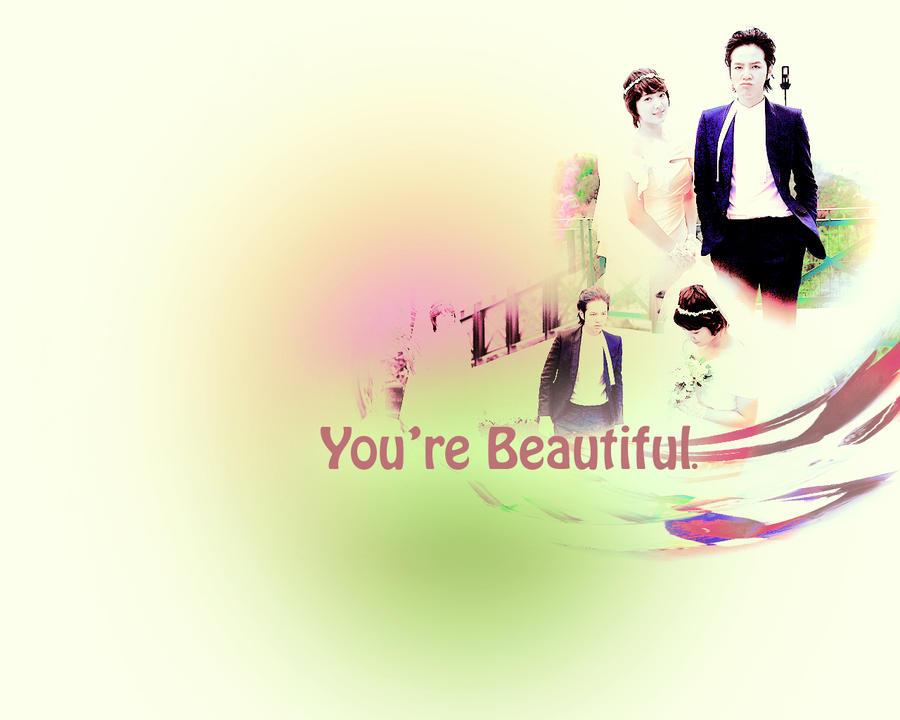 youre beautiful wallpaper by kimdzin4 on deviantart