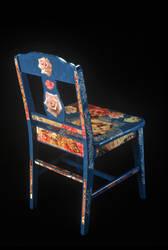 Blue Chair by marthafriend