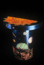 Outer Space Table by marthafriend